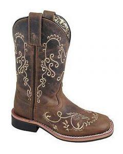 Smoky Mountain Boots Kids Marilyn Brown Waxy