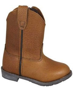 Smoky Mountain Boots Kids Jackson Wellington Brown