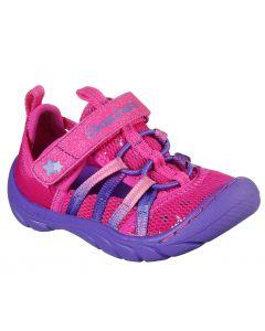 Skechers Kids Summer Steps Humble Cutie Hot Pink Purple