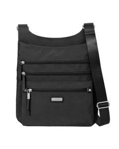 Baggallini Women's Around Town Handbag Black