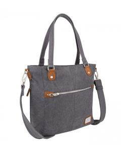 Travelon Women's Anti-Theft Heritiage Tote Bag Pewter