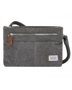 Travelon Women's Anti-Theft Small Crossbody Handbag Pewter
