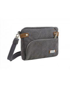 Travelon Women's Anti-Theft Crossbody Handbag Pewter