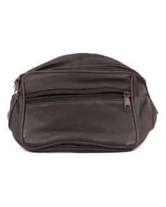 Leather Impressions Fanny Pack Brown