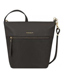Travelon Women's Anti-Theft Addison Bucket Bag Black