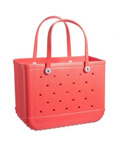 """Bogg Bags 19"""" Large Tote Coral Me Mine"""