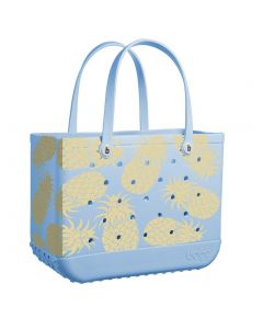 """Bogg Bags 19"""" Large Tote Pineapple"""