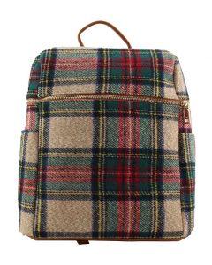 Jen & Co. Andi Backpack Plaid Multi