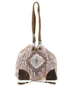 Myra Bag Temple Run Bucket Bag Grey