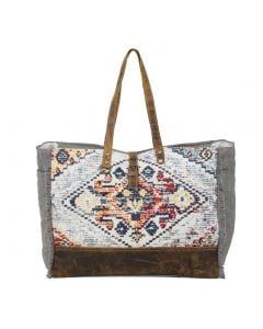 Myra Bag Dreamy Affair Weekender Grey Multi
