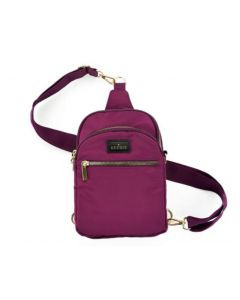 Kedzie Roundtrip Convertible Sling Purple