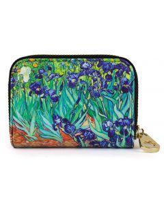 Monarque RFID Wallets Van Gogh Irises