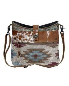 Myra Bag Placid Shoulder Teal Aztec