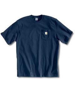 Carhartt Men's Tall Workwear Pocket T-Shirt Navy