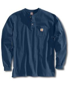 Carhartt Men's Workwear Henley Navy