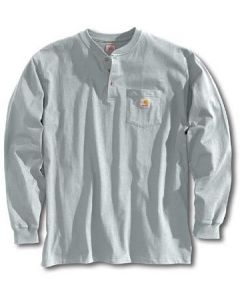 Carhartt Men's Workwear Henley Heather Grey
