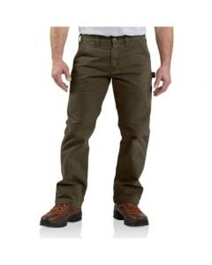 Carhartt Men's Wash Twill Dungaree Dark Coffee