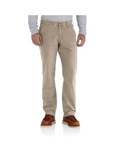 Carhartt Men's Rugged Flex Rigby Dungaree Tan