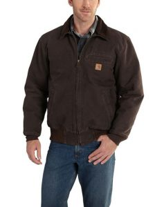 Carhartt Men's Bankston Jacket Dark Brown