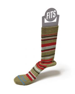 Fits Socks Women's Medium Hiker Crew Herb Red