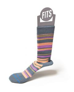Fits Socks Women's Medium Hiker Crew Stormy Weather