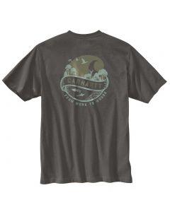 Carhartt Men's Pocket Woods T-Shirt Peat