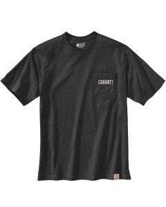 Carhartt Men's LF HW Pocket Graphic T-Shirt Carbon Heather