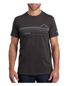 Kuhl Men's Mountain Lines T-Shirt Carbon