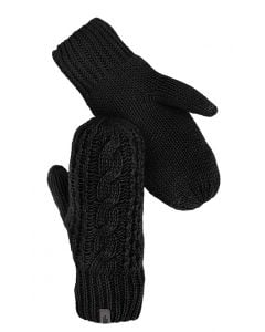 The North Face Women's Cable Knit Mitt TNF Black