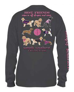 Simply Southern Women's Best Friends T-Shirt Iron