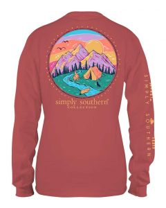 Simply Southern Women's Camp T-Shirt Spiced