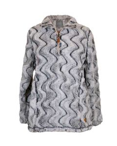 Simply Southern Women's Ripple Pullover Stone