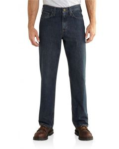 Carhartt Men's Relaxed Fit Holter Jean Bed Rock