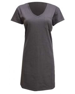 Stillwater Supply Co. Women's Tshirt Dress Charocal