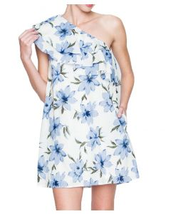 Loveriche Women's Sleeveless Dress Off-White