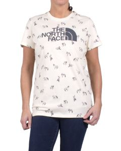 The North Face Women's Allover Print T-shirt Vintage White