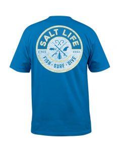 Salt Life Men's Friction Short Sleeve T-Shirt Royal