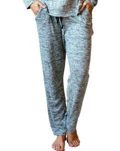 Hello Mello Women's Lounge Pants Grey