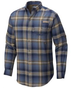 Columbia Sportswear Men's Sharptail Flannel Dark Mountain Multi Plaid