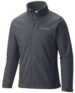 Columbia Sportswear Men's Ascender Softshell Jacket Graphite