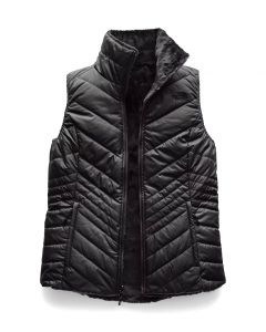 The North Face Women's Mossbud Insulated Reversible Vest TNF Black