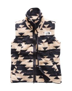 The North Face Women's Campshire Vest Peyote Beige California Basket