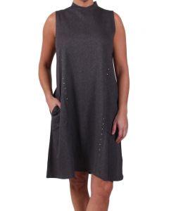 Simply Noelle Women's Struttin' In Studs Dress Steel