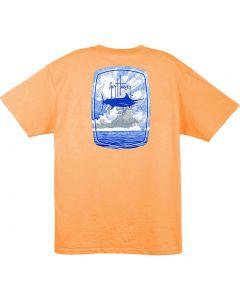Guy Harvey Men's Bombshell T-Shirt Mango