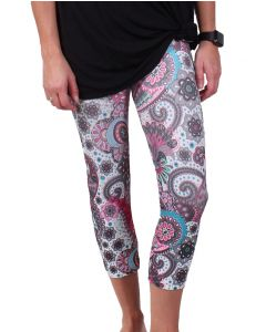 One 5 One Women's Paisley Print Leggings