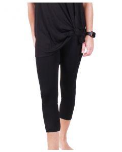 One 5 One Women's Basic Leggings Black