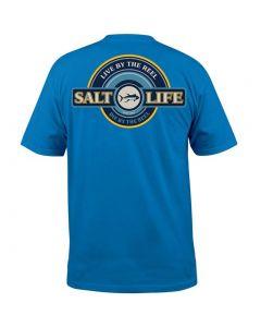 Salt Life Men's Live By Reel T-Shirt Royal