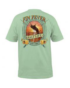 Salt Life Men's Fin Fever T-Shirt Pistachio