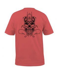 Salt Life Men's Ghost Ship T-Shirt Burnt Coral