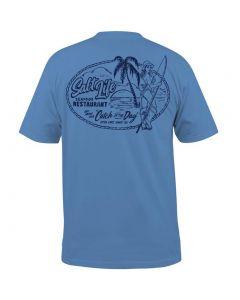 Salt Life Men's Fresh Catch T-Shirt Chambray